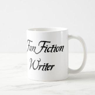 Escritor de la ficción de fan tazas