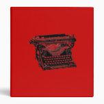 Escritor de la máquina de escribir del sotobosque