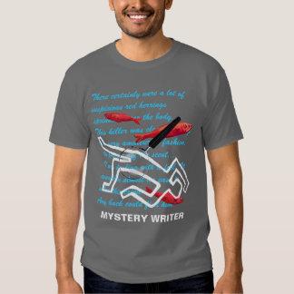 Escritor de misterio camisas