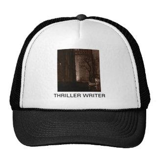 Escritor de novela de suspense gorros