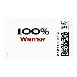 Escritor del 100 por ciento sellos