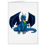 Escritor del dragón tarjetas