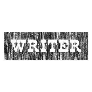 Escritor del estilo de la prensa de copiar de la tarjetas de visita mini