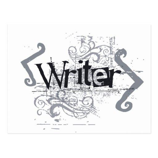 Escritor del Grunge Postal