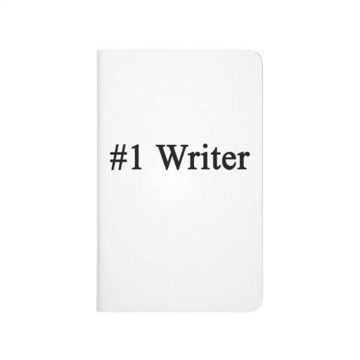 Escritor del número 1 cuadernos grapados