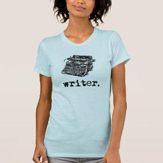 Escritor (del tipo) camiseta