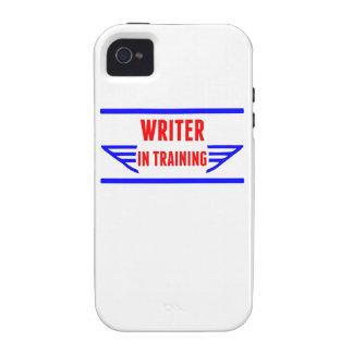 Escritor en el entrenamiento iPhone 4 fundas