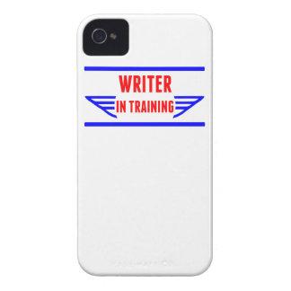 Escritor en el entrenamiento iPhone 4 Case-Mate protector