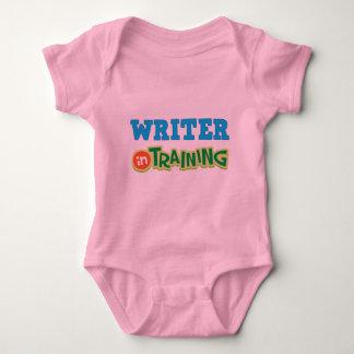 Escritor en el entrenamiento (futuro) mameluco de bebé