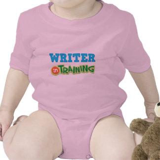 Escritor en el entrenamiento (futuro) traje de bebé