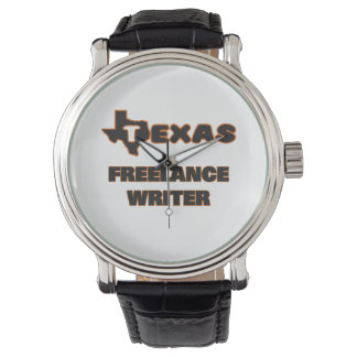 Escritor free lance de Tejas Relojes De Pulsera