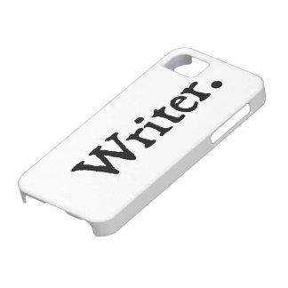 Escritor iPhone 5 Case-Mate Carcasa