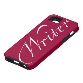 Escritor iPhone 5 Case-Mate Carcasas