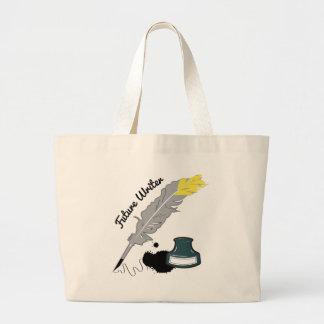 Escritor futuro bolsas de mano