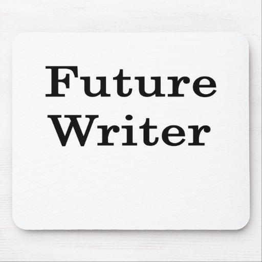 Escritor futuro tapete de ratón