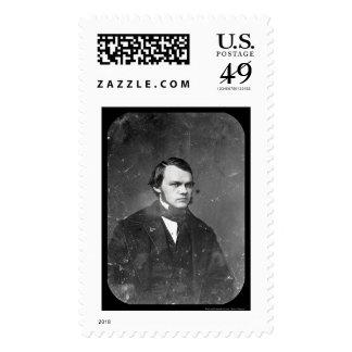 Escritor Henry J. Raymond Daguerreotype 1844 Sello