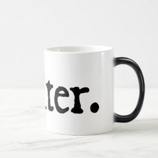 Escritor inmediato (apenas añada el café caliente) taza de café
