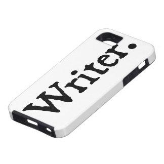 Escritor iPhone 5 Funda