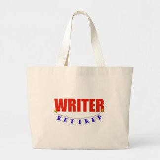 Escritor jubilado bolsas