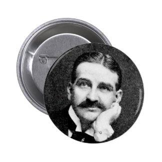 Escritor mago de Oz de Frank Lyman del de Baum Pin