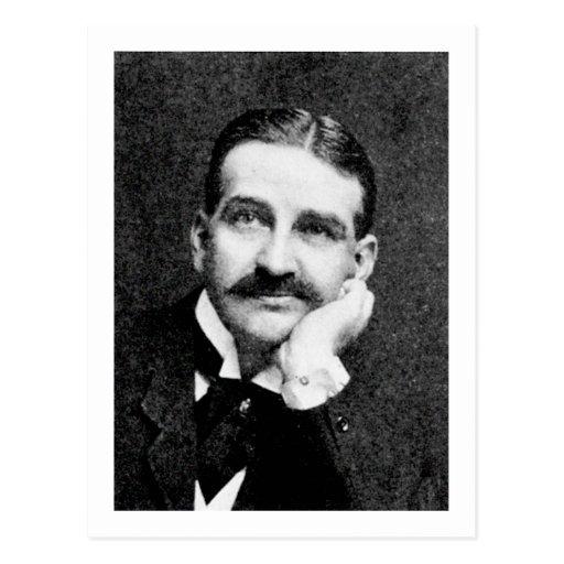 Escritor mago de Oz de Frank Lyman del ~ de Baum Tarjeta Postal