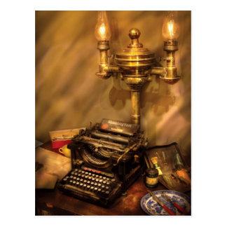 Escritor - máquina de escribir de Remington Tarjetas Postales