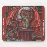 Escritor Mousepad del dragón Alfombrilla De Raton