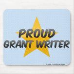 Escritor orgulloso de Grant Alfombrillas De Ratón