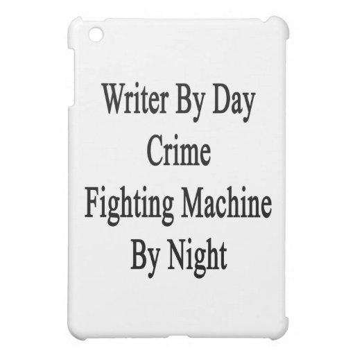 Escritor por la máquina que lucha del crimen del d