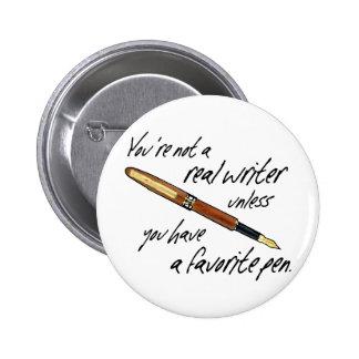 Escritor real pins