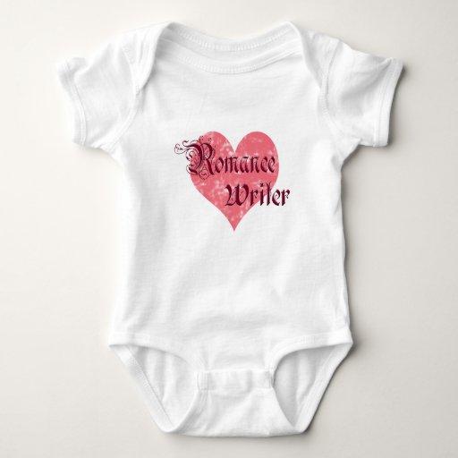 Escritor romántico body para bebé