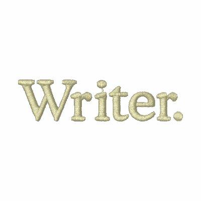 Escritor Sudadera Bordada Con Capucha