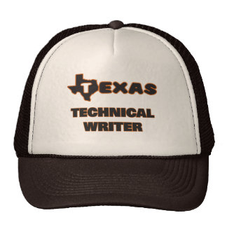 Escritor técnico de Tejas Gorro De Camionero