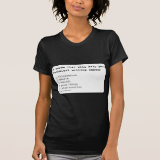Escritor técnico camiseta