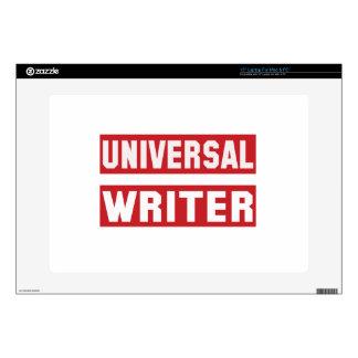 Escritor universal skins para portátiles