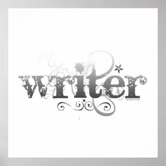 Escritor urbano impresiones