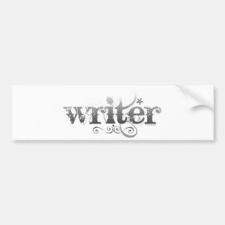 Escritor urbano pegatina para auto