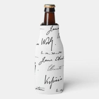 Escritores de las mujeres enfriador de botellas