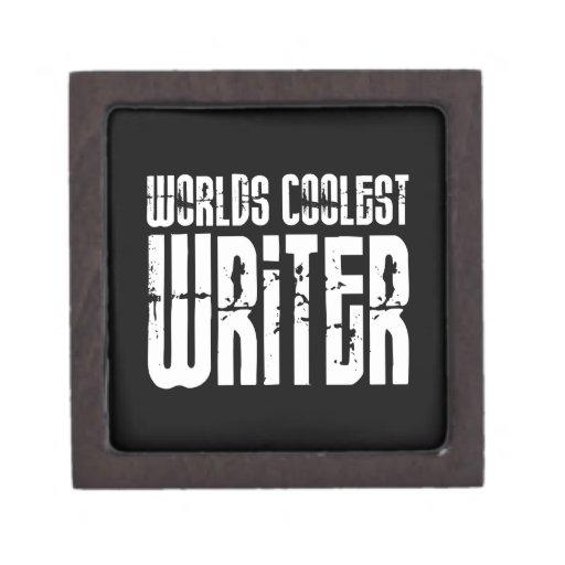 Escritores frescos: El escritor más fresco de los  Caja De Recuerdo De Calidad