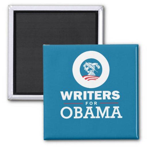 Escritores para Obama Imán Cuadrado