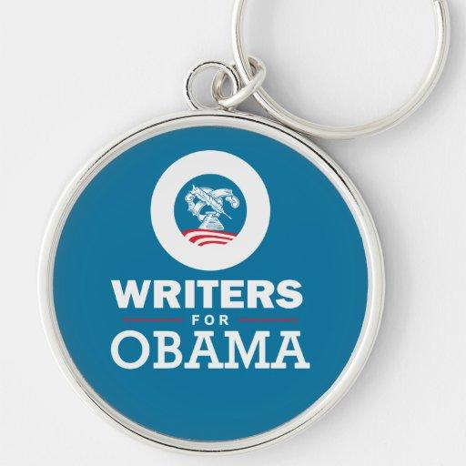 Escritores para Obama Llavero