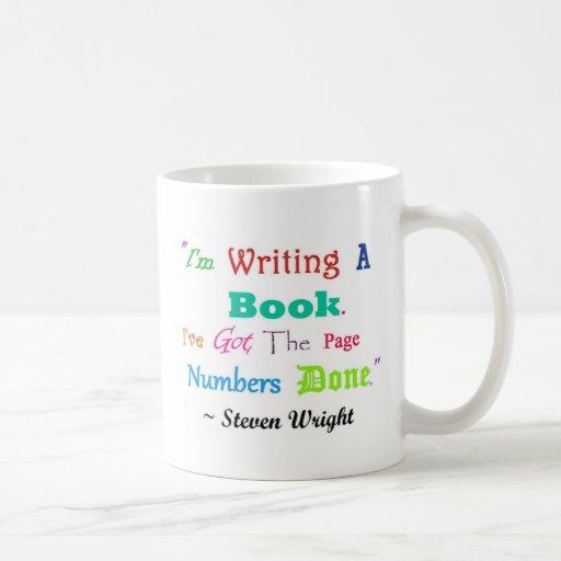 Escritores por todas partes V.2 de los escritores Taza De Café