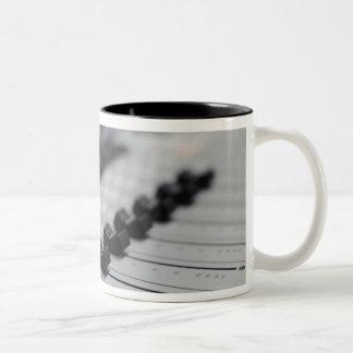 Escritorio de mezcla taza de café