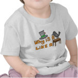 Escritorio del cuervo - camiseta infantil