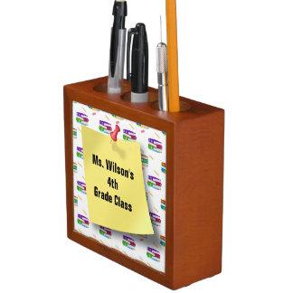 Escritorio personalizado Orga del papel del lápiz