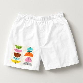 Escritos del algodón de los hombres coloridos calzoncillos
