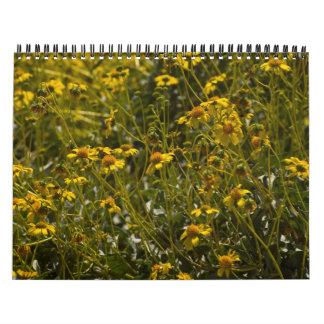 Escritura 2015 del Wildflower Calendarios De Pared