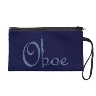 Escritura azul de Oboe
