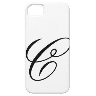 Escritura C iPhone 5 Carcasas