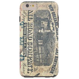 Escritura confederada del ferrocarril de New Funda Resistente iPhone 6 Plus